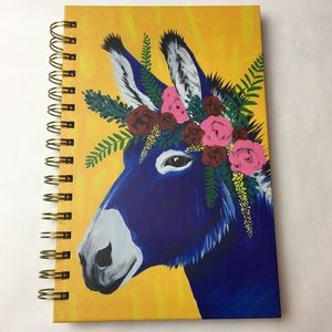 Accessories - Jose Donkey By Spring Whitaker Spiral Notebook